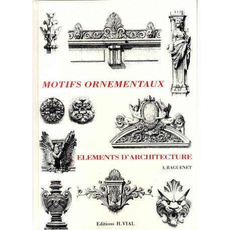Motifs ornementaux éléments d'architecture