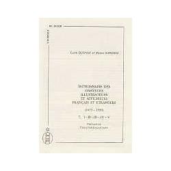 Dictionnaire des graveurs, illustrateurs et affichistes français et étrangers   (1673-1950) 5 vol.