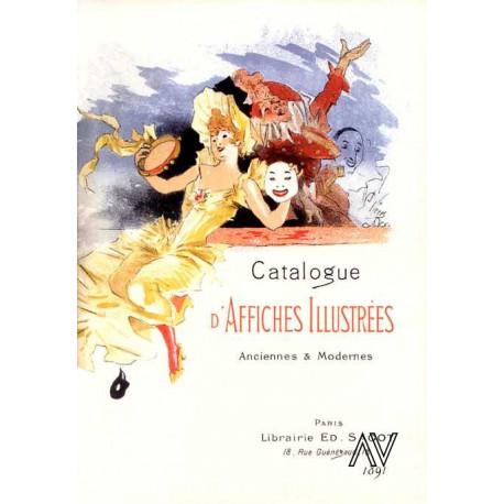Catalogue d'affiches illustrées anciennes et modernes -1891-