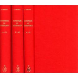 Dictionnaire des indépendants  1884-1914 répertoire des exposants et liste des oeuvres présentées 3vol