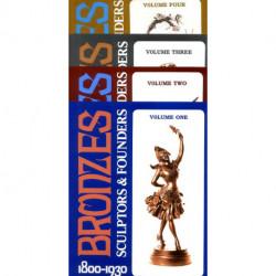 Bronzes sculptors & founders  1800/1930 4 vol + Index (2° édi)