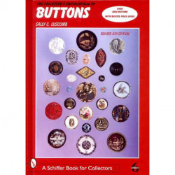 Collectors encyclopédia of buttons 6 th ed  ( bouton )