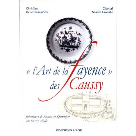 L'art de la fayence des Caussy faïenciers à Rouen et Quimper au XVIII° siècle