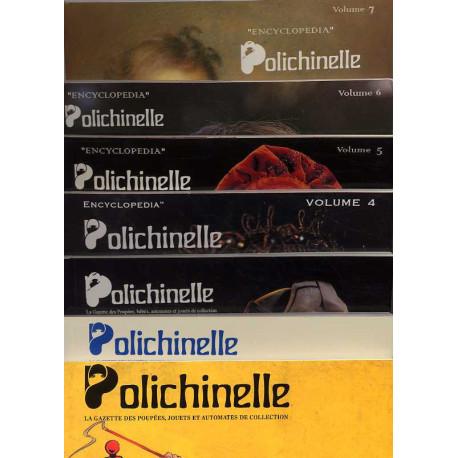 Les 7 volumes de l'encyclopédie polichinelle en 2 coffrets