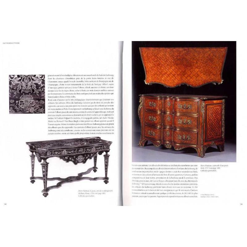 les artisans d corateurs du bois au faubourg saint antoine sous louis xiv alcouffe daniel. Black Bedroom Furniture Sets. Home Design Ideas