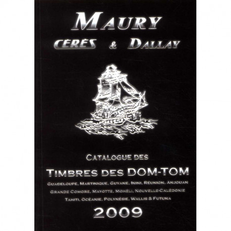 Catalogue des timbres des Dom-Tom 2009