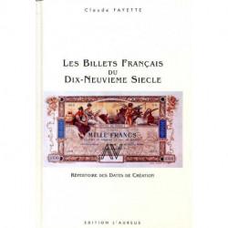 Les billets français du dix-neuvième siècle