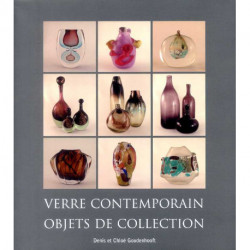 Verre contemporain objets de collection