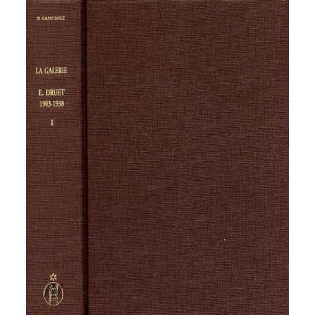 Les expositions de la galerie Eugéne Druet, répertoire des artistes exposant et liste de leurs oeuvres (1903/1938).