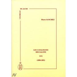 Les catalogues des salons tome XVI (1890-1892)