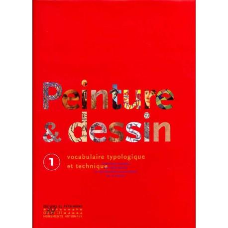 Peinture et dessin vocabulaire typologique et technique (2 volumes)