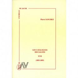 Les catalogues des salons tome XVII (1893-1895)
