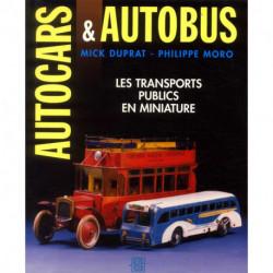 Autocars et autobus les transports publics en miniature