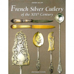 French silver cutlery of the XIXth century