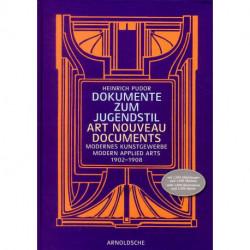 Art Nouveau Documents Modern Applied Arts 1902-1908 /anglais/allemand