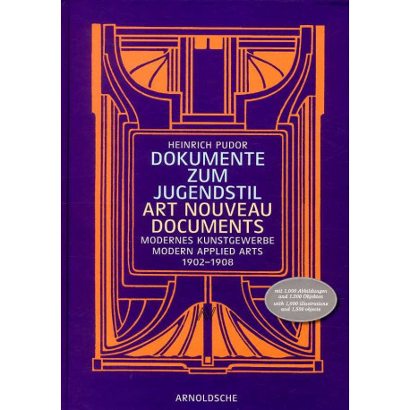 Art nouveau Documents Modern Applied Arts 1902-1908