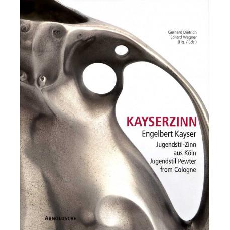 Kayserzinn Engelbert Kayser, Jugenstil Pewter From Cologne /anglais/allemand