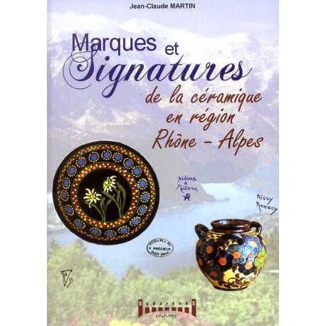 Marques et signatures de la céramique en région Rhône-Alpes