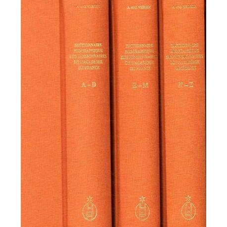 Dictionnaire biographique des pensionnaires de l'Académie de France à Rome 1666-1968