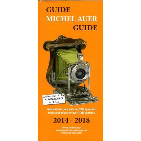 Guide Michel Auer, Index Auer 2014-2018 argus des appareils photographiques