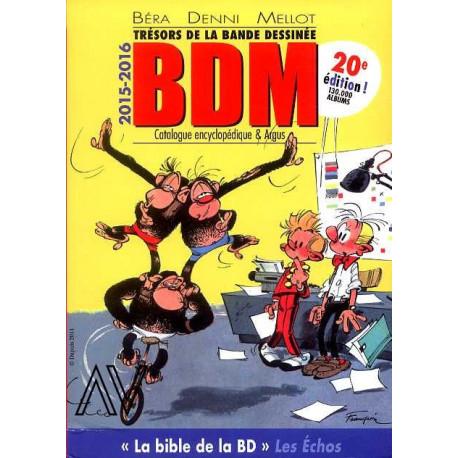 BDM argus 2015 2016 Trésors de la bande dessinée