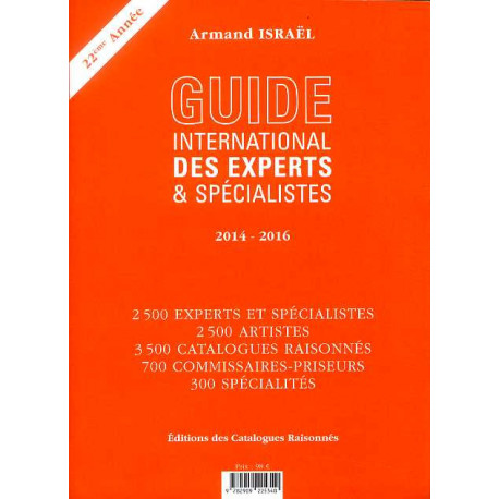 Guide international des experts & spécialistes 2014 - 2016