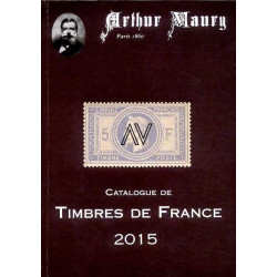 Le catalogue Maury 2015 des timbres de France