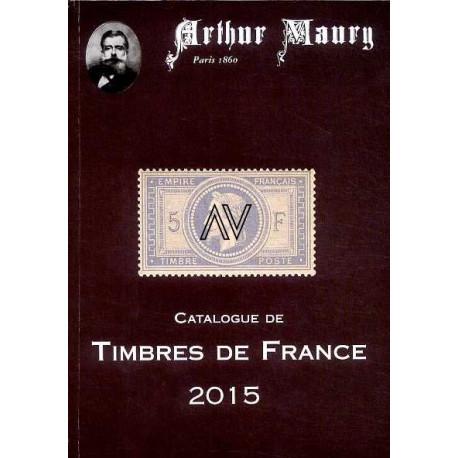 Le catalogue Maury 2015 des timbres de France