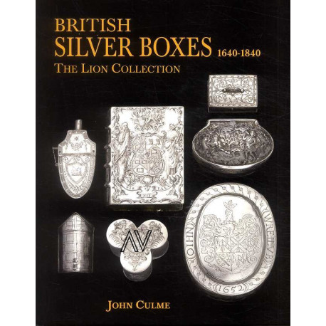 British Silver Boxes 1640-1840 /anglais