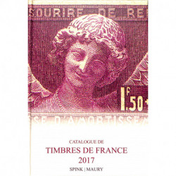 Catalogue de timbres de France 2017
