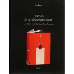 Histoire de la reliure de création. La collection de la Bibliothèque Sainte-Geneviève