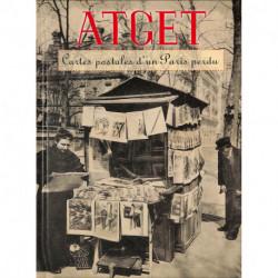Atget - Cartes postales d'un Paris perdu