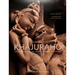 Khajuraho - Apogée sensuel de l'art indien. Temples et sculptures.