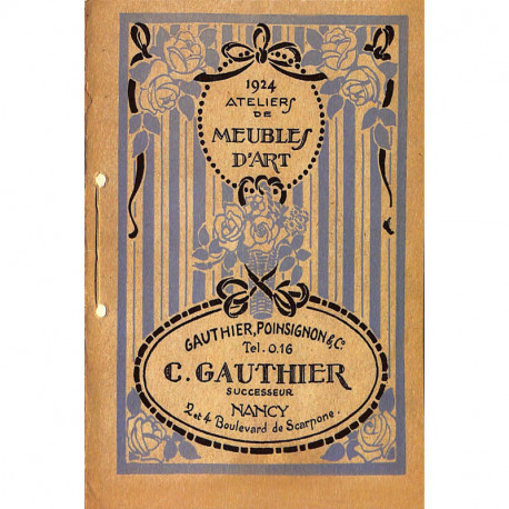 Catalogue de vente - Gauthier, Poinsignon & Cie
