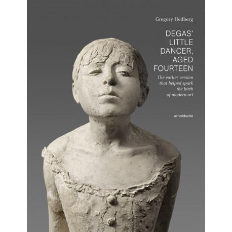 Degas' little dancer, aged fourteen