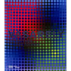 Vasarely, Partage des formes