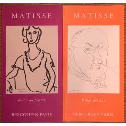 Berggruen - 2 catalogues sur Matisse