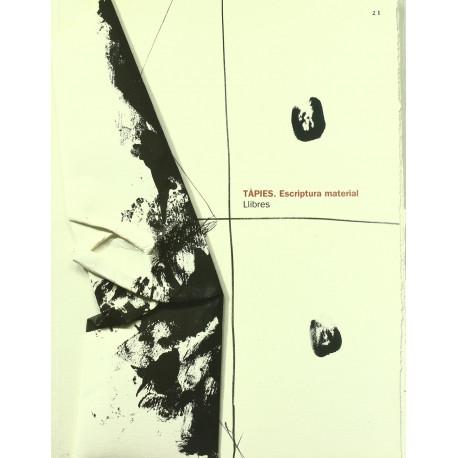 Tapiès Escriptura material / Llibres