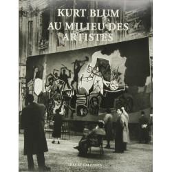 Kurt Blum Au Milieu Des Artistes