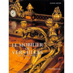 Le mobilier du musée de Versailles - Coffret 2 volumes