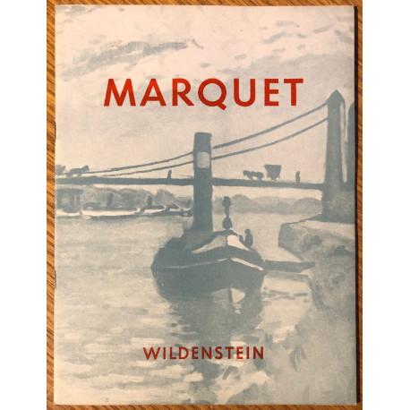 A loan exhibition of Marquet sponsored by Count Jean Vyau de Lagarde.