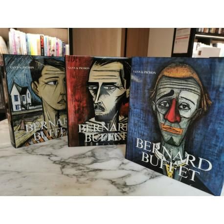 Bernard Buffet  (1943-1999) 3 vol