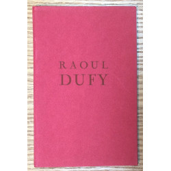 Raoul Dufy - Catalogue Wildenstein, London, 1961