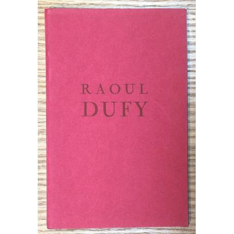Raoul Dufy - Catalogue Wildenstein, London, 1961