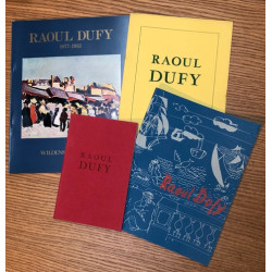 Raoul Dufy - Lot de 4 catalogues Wildenstein