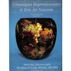 Céramiques impressionnistes et grès art nouveau