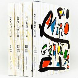 Miró graveur - 4 volumes
