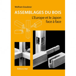 Assemblages du bois l'Europe et le Japon face à face