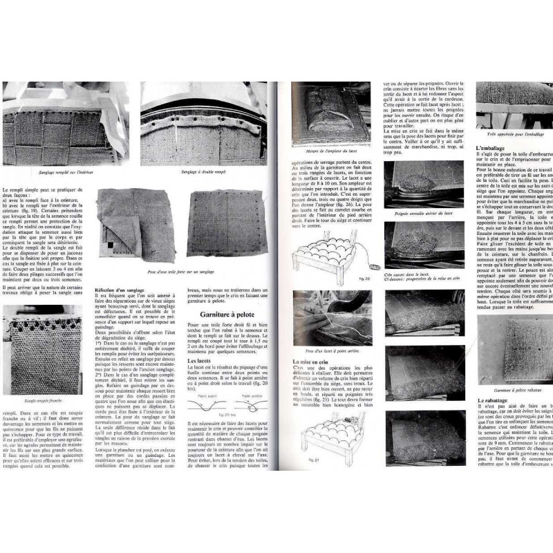 tapisserie d 39 ameublement ossut vial 978 2 85101 007 0. Black Bedroom Furniture Sets. Home Design Ideas