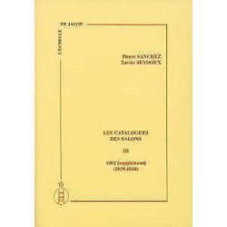 Les catalogues des salons tome III  (1835-1840)